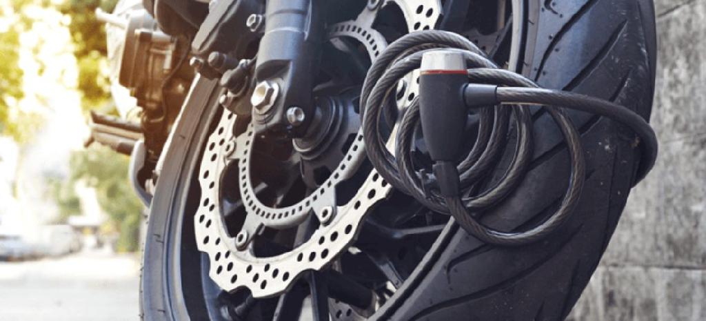 Motorrad Roller Diebstahlsicherung