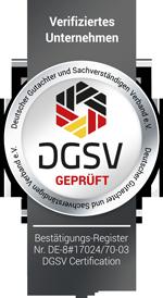 DGSV KFZ Gutachter